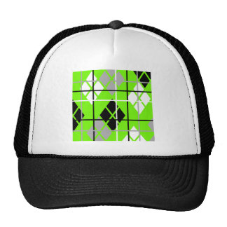 Aargh Argyle Trucker Hat