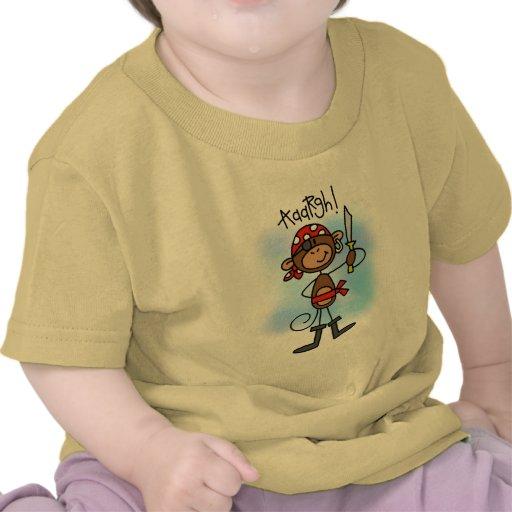 Aargh camisetas y regalos del pirata del mono