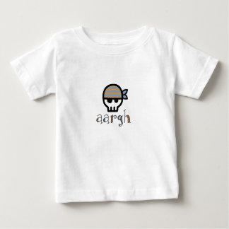 Aargh Pirate Skull Toddler Boy Baby T-Shirt