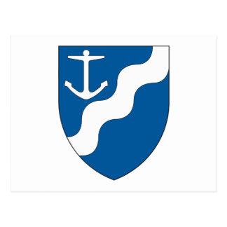 Aarhus Amt Coat of Arms Postcard