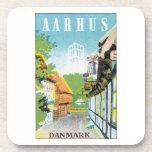 AARHUS, Danmark Posavasos
