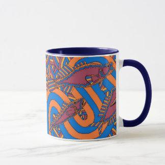 Aarli - School Of Fish Winter Season Mug