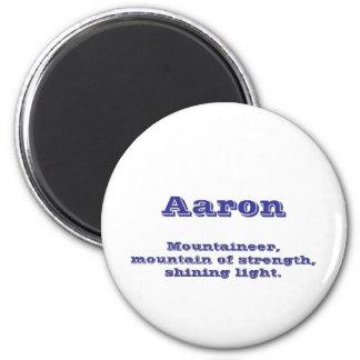 Aaron 2 Inch Round Magnet