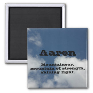 Aaron 2 Inch Square Magnet