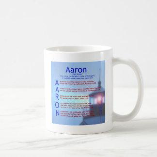 Aaron Acrostic Coffee Mug