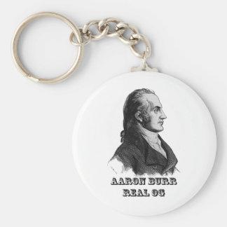 Aaron Burr Original Gangsta Basic Round Button Keychain
