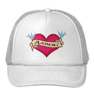 Aaron - camisetas y regalos de encargo del tatuaje gorros