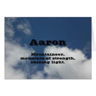 Aaron Card