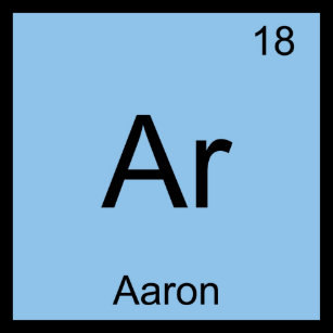 Periodic table symbol metal keychains zazzle aaron chemistry element symbol periodic table name keychain urtaz Image collections