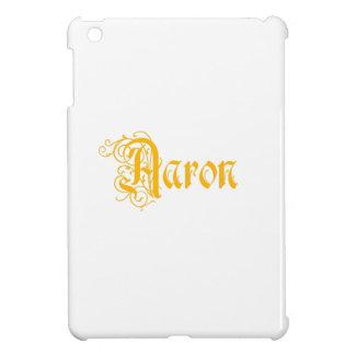 Aaron conocido en vieja caligrafía hermosa de la p