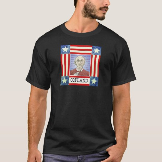 Aaron Copland dark T-shirt