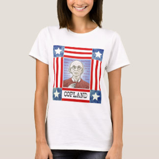 Aaron Copland ladies T-shirt