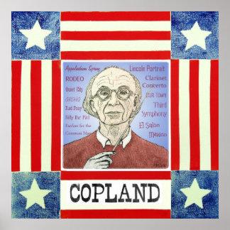 Aaron Copland print