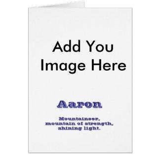 Aaron Felicitaciones
