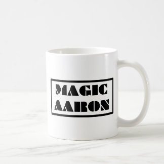 Aaron mágico taza de café