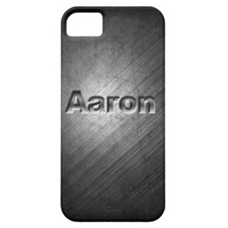 Aaron Phone Case Cover Personlised metal persolise