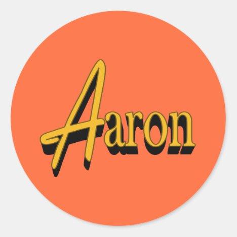 Aaron Stickers