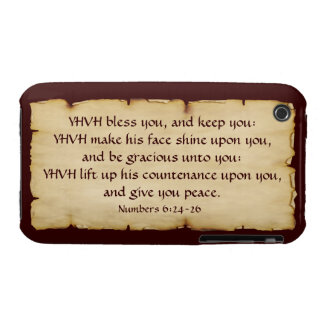 Aaronic Blessing iPhone 3G/3GS BarelyThere iPhone 3 Case-Mate Case