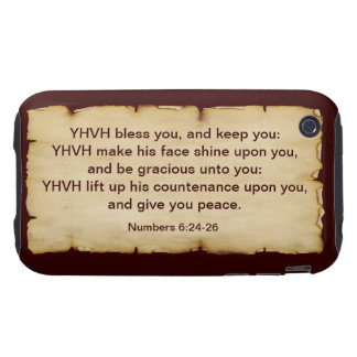 Aaronic Blessing iPhone 3G/3GS Tough Case