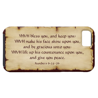 Aaronic Blessing iPhone 5 Tough Case-Mate Case