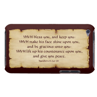 Aaronic Blessing iPod Touch 4G BarelyThere Case-Mate iPod Touch Case