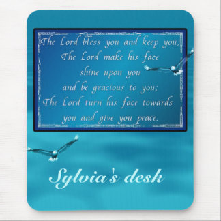 Aaronic blessing mouse pad