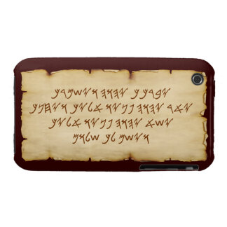 Aaronic Blessing Paleo iPhone 3G/3GS BarelyThere iPhone 3 Covers