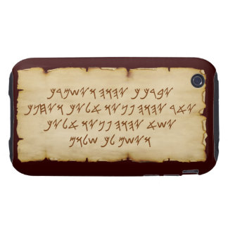 Aaronic Blessing Paleo iPhone 3G/3GS Tough Case iPhone 3 Tough Case