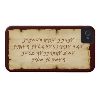 Aaronic Blessing Paleo iPhone 4/4S Barely There Case-Mate iPhone 4 Cases