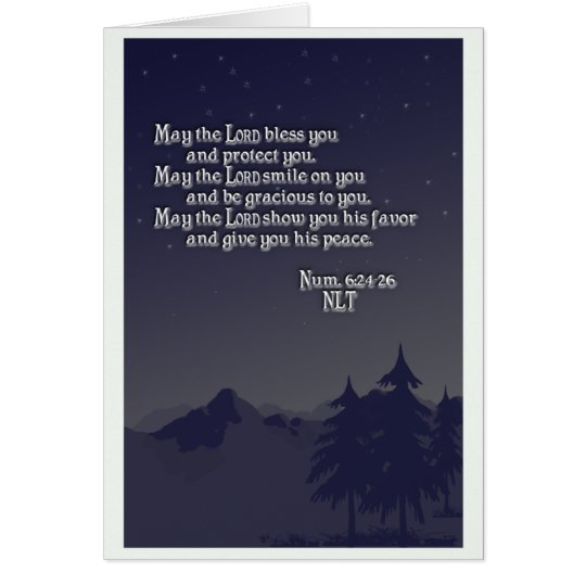 Aaron's Blessing - Greeting Card