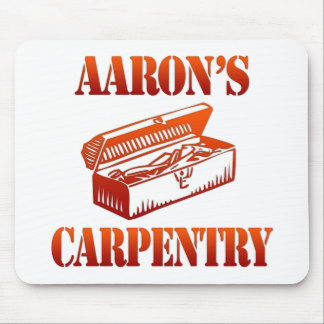 Aaron's Carpentry Mouse Pad