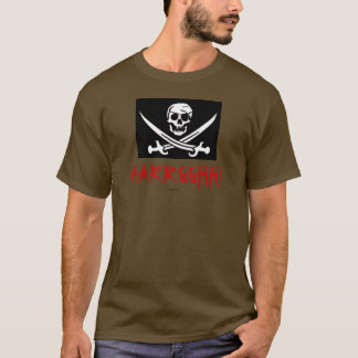 AARRGGHH! Pirate Jolly Roger t-shirt
