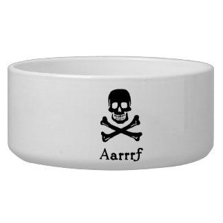 Aarrrf! Dog Bowl