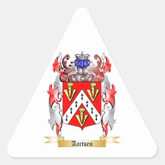 Aartsen Pegatina De Triangulo Personalizadas