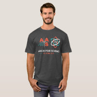 AAS+March for Science; Charcoal Heather T-Shirt