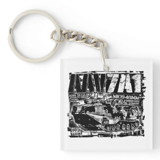 AAV-7A1 Keychain Acrylic Keychain