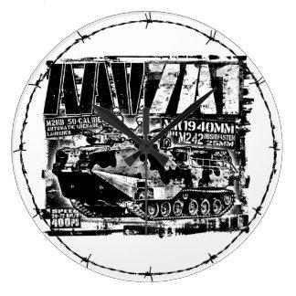 AAV-7A1 Large Clock Acrylic Wall Clock