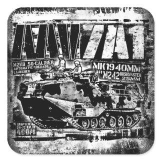 AAV-7A1 Square Sticker Sticker