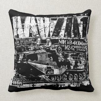AAV-7A1 Throw Pillow Throw Pillow