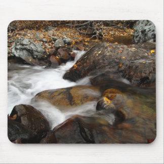 AAW Alaskan Autumn Waterfall Mousepad