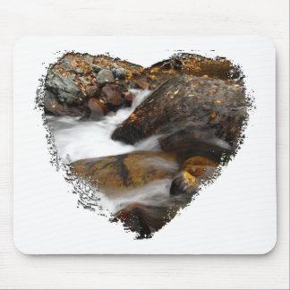 AAW Alaskan Autumn Waterfall Mouse Pads