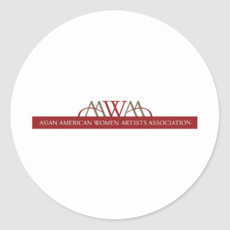 AAWAA products Classic Round Sticker