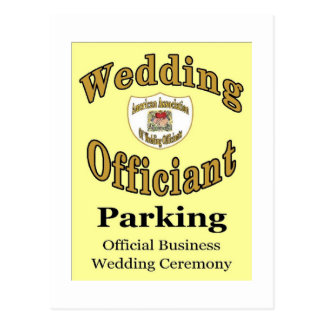 AAWO Parking Postcard