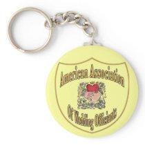 AAWO Wedding Officiant Keychain