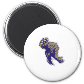 Aaya Fort Meade Cougars Under 6 2 Inch Round Magnet