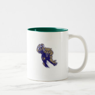 Aaya Fort Meade Cougars Under 6 Two-Tone Coffee Mug