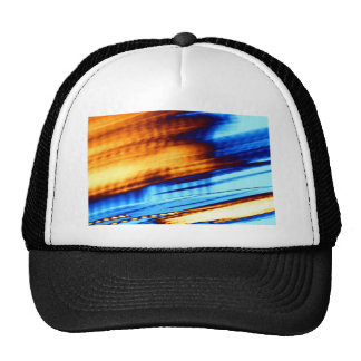 ab13 Abstract Fun Art Design Color Trucker Hat