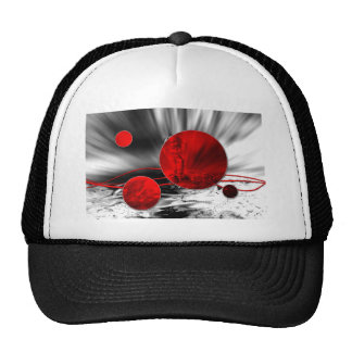 ab18 Abstract Fun Art Design Color Trucker Hat