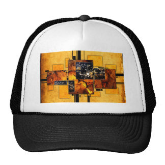 ab29 Abstract Fun Art Design Color Trucker Hat