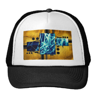 ab31 Abstract Fun Art Design Color Trucker Hat